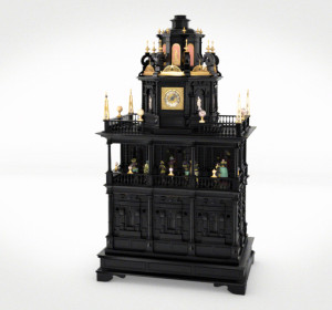 "<span>MPS ""Hottentottentanz"" – musical clock</span><i>→</i>"